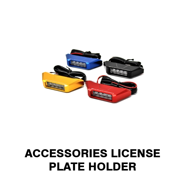 Accessories License Plate Holder