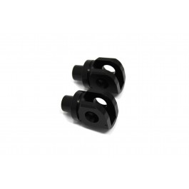 Pilot Footpegs Adapters-Black