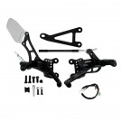 Rearsets Type 2.5 Reverse Gear (Kit) Black