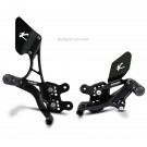 Rearsets Type 1.5 Reverse Gear (Kit) Black