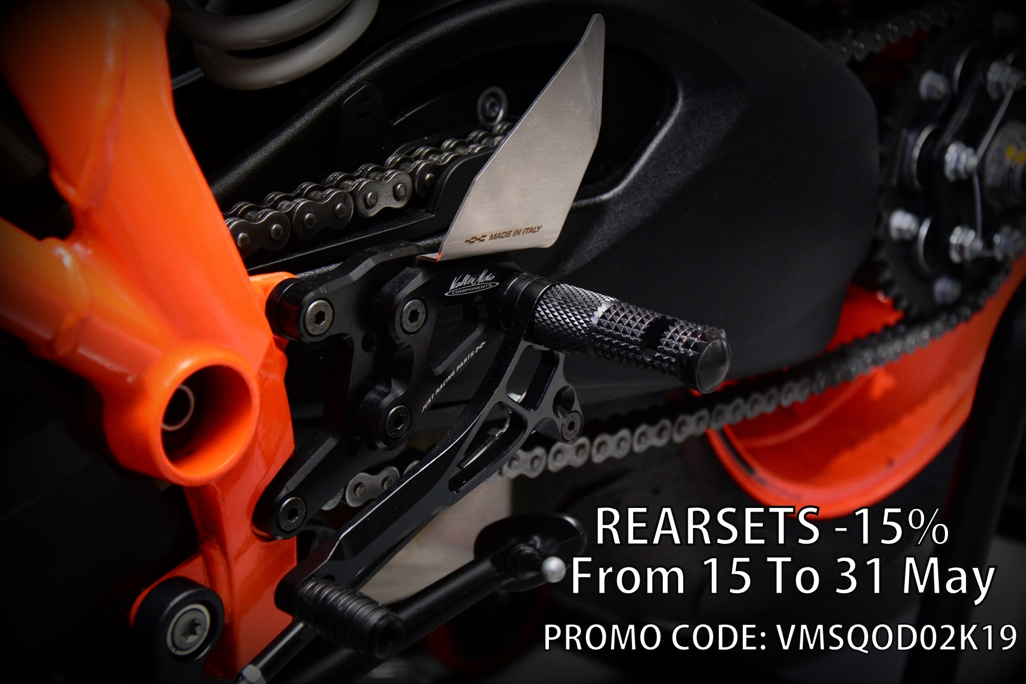 Rearset promo 15%off